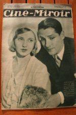 Magazine 1931 Jean Weber Josseline Gael Jean Gabin Gloria Jeanette MacDonald