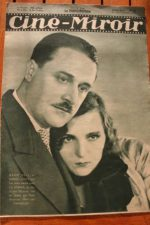 Magazine 1931 Marie Bell Marcel Andre Danielle Darrieux Roland Toutain