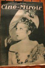 Magazine 1931 Janie Marese Lucien Muratore Raimu Janie Marese Douglas Fairbanks