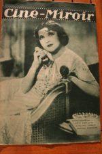 Magazine 1931 Louise Lagrange Michel Simon La chienne Simone Simon