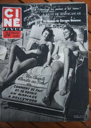 1953 Esther Williams Errol Flynn Maureen O'Hara Bardot