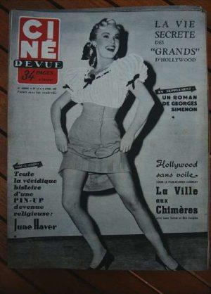 53 June Haver Brigitte Bardot Lana Turner Mack Sennett