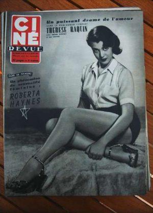 1953 Roberta Haynes Dick Powell Raf Vallone Clara Bow