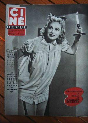1953 Marie Wilson Stewart Granger Alan Ladd Fernandel