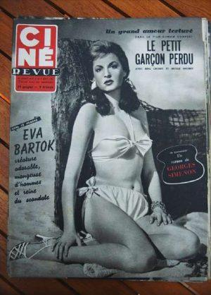53 Eva Bartok Georges Guetary Bing Crosby Sacha Guitry