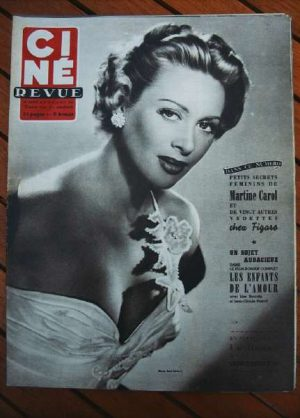 1953 Martine Carol Alan Ladd Steve Cochran Mel Ferrer