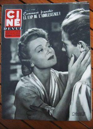 1953 Claire Bloom James Mason Gary Cooper Lex Barker