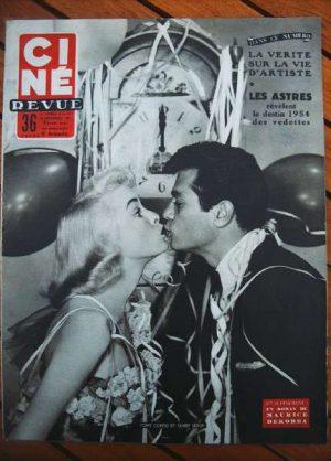 Tony Curtis Janet Leigh Leslie Caron Doris Day Cocteau