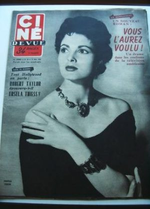 1953 Ursula Thiess Festival Cannes Alan Ladd Liz Taylor