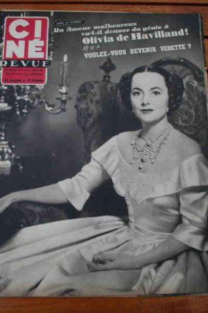 1953 Olivia De Havilland Luis Mariano William Holden