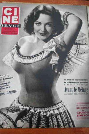 1953 Linda Darnell Guy Madison Reggiani William Holden