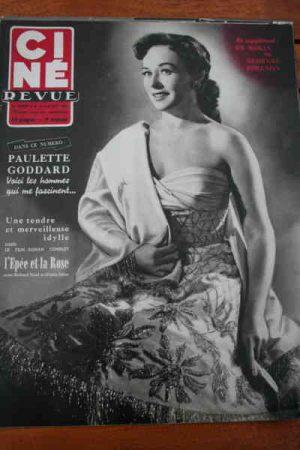 Paulette Goddard Bing Crosby Glynis Johns Richard Todd