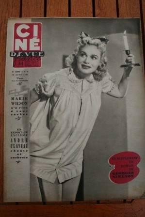 1953 Marie Wilson Alan Ladd Stewart Granger Arlene Dahl