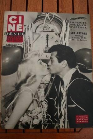 53 Tony Curtis Janet Leigh Leslie Caron Marilyn Monroe