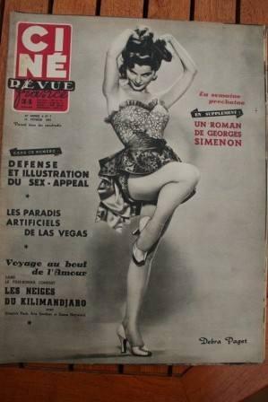 Debra Paget Robert Liz Taylor Susan Hayward Ava Gardner
