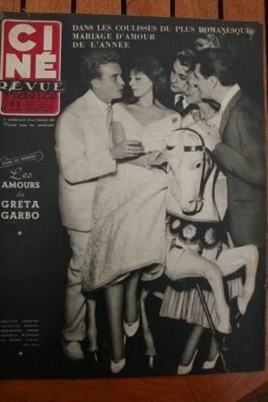 Juliette Greco Greta Garbo Pier Angeli Marilyn Monroe