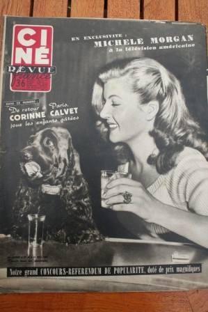 Corinne Calvet Terry Moore Michele Morgan Lana Turner