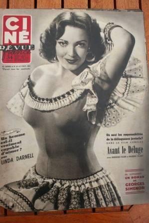 Linda Darnell Reggiani Guy Madion Delia Scala Widmark