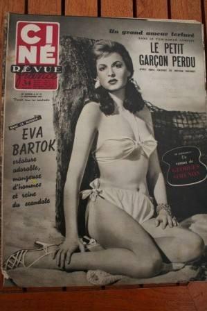 53 Eva Bartok Georges Guetary Sacha Guitry Bing Crosby
