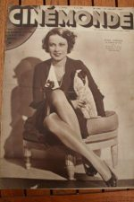 Magazine 1932 Francoise Rosay Suzy Vernon Dickie Moore