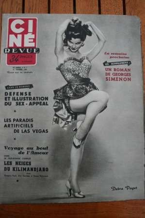 1953 Debra Paget Robert Liz Taylor Susan Hayward Pavan