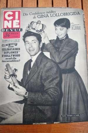 1953 Farley Granger Leslie Caron Fairbanks Lollobrigida
