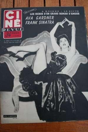 1953 Ava Gardner Frank Sinatra Gary Cooper De Havilland