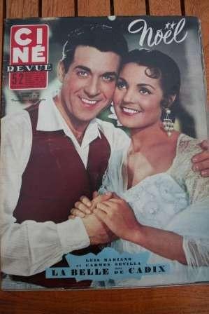 53 Luis Mariano Carmen Sevilla Audrey Hepburn Alan Ladd