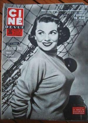 1954 Joanne Dru Pier Angeli Peggie Castle Anthony Steel