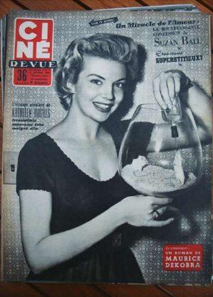 1954 Kathleen Hughes Mitchum Suzan Ball Marilyn Monroe