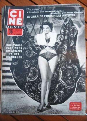 1954 Jane Russell Gene Tierney Rossana Podesta Fresnay