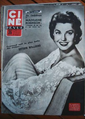 1954 Esther Williams Franco Fabrizi Zsa Zsa Gabor