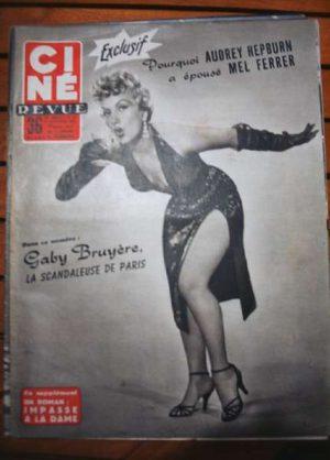 Audrey Hepburn Pier Angeli Susan Hayward Jack Palance