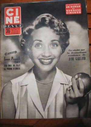 1954 Judy Garland Jane Powell Rock Hudson Jean Marais