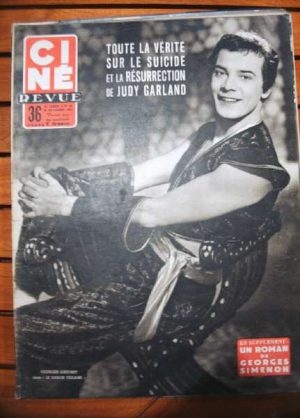 54 Georges Guetary Judy Garland Charlton Heston Lualdi