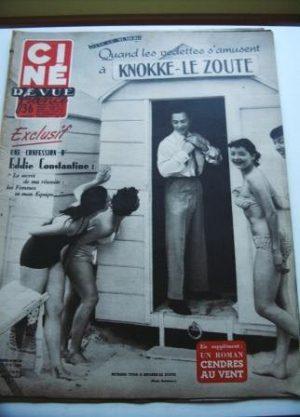 1954 Richard Todd Eddie Constantine Gary Cooper Bogart