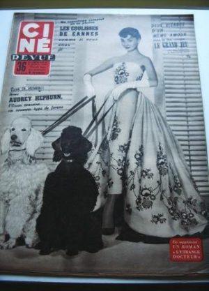 54 Audrey Hepburn Festival Cannes Lollobrigida Mitchum