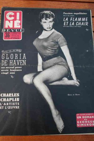 1954 Gloria De Haven Chaplin Susan Hayward Lana Turner