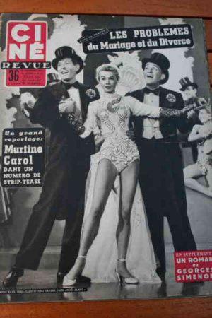 Vera Ellen Chaplin Ann Blyth Jeff Chandler Bing Crosby