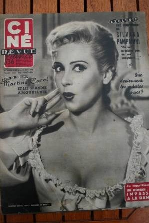 1954 Errol Flynn Pampanini Grace Kelly Brigitte Bardot