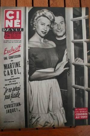 1954 Martine Carol Gary Cooper Joan Crawford Abbe Lane