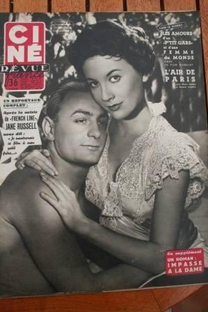 1954 Grace Kelly Gordon Scott Gina Lollobrigida Podesta