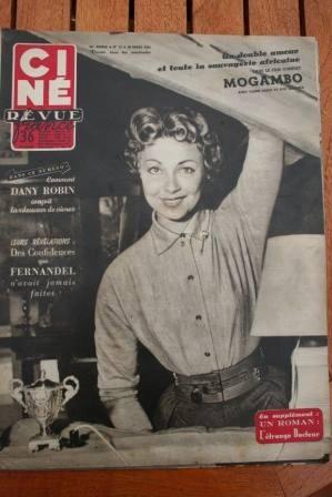 54 Fernandel Grace Kelly Ava Gardner Gina Lollobrigida