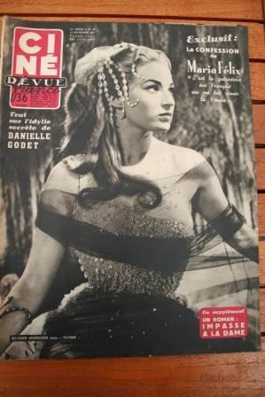 1954 Marilyn Monroe Mangano Maria Felix Robert Taylor