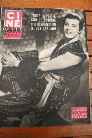 1954 Guetary Judy Garland Jacques Sernas Robert Taylor