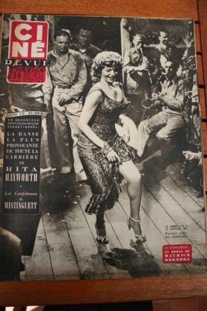 Rita Hayworth Ginger Rogers Rock Hudson Humphrey Bogart