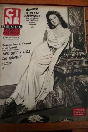 54 Susan Hayward Nicole Maurey Deborah Kerr Danny Kaye