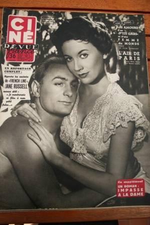 1954 Rossana Podesta Humphrey Bogart Jane Russell Gabin