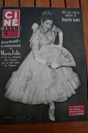 1954 Marilyn Monroe Maria Felix Robert Taylor Lanza
