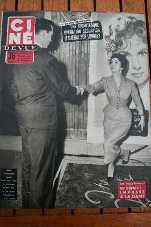 1954 Marilyn Monroe Gina Lollobrigida Sterling Hayden